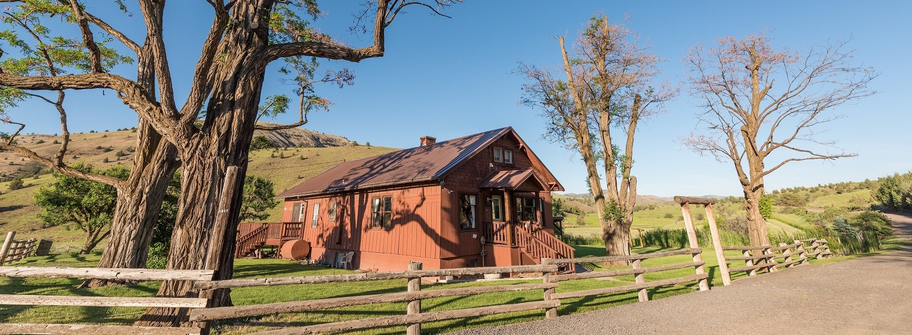 wilson ranches retreat fossil oregon bed and breakfast a