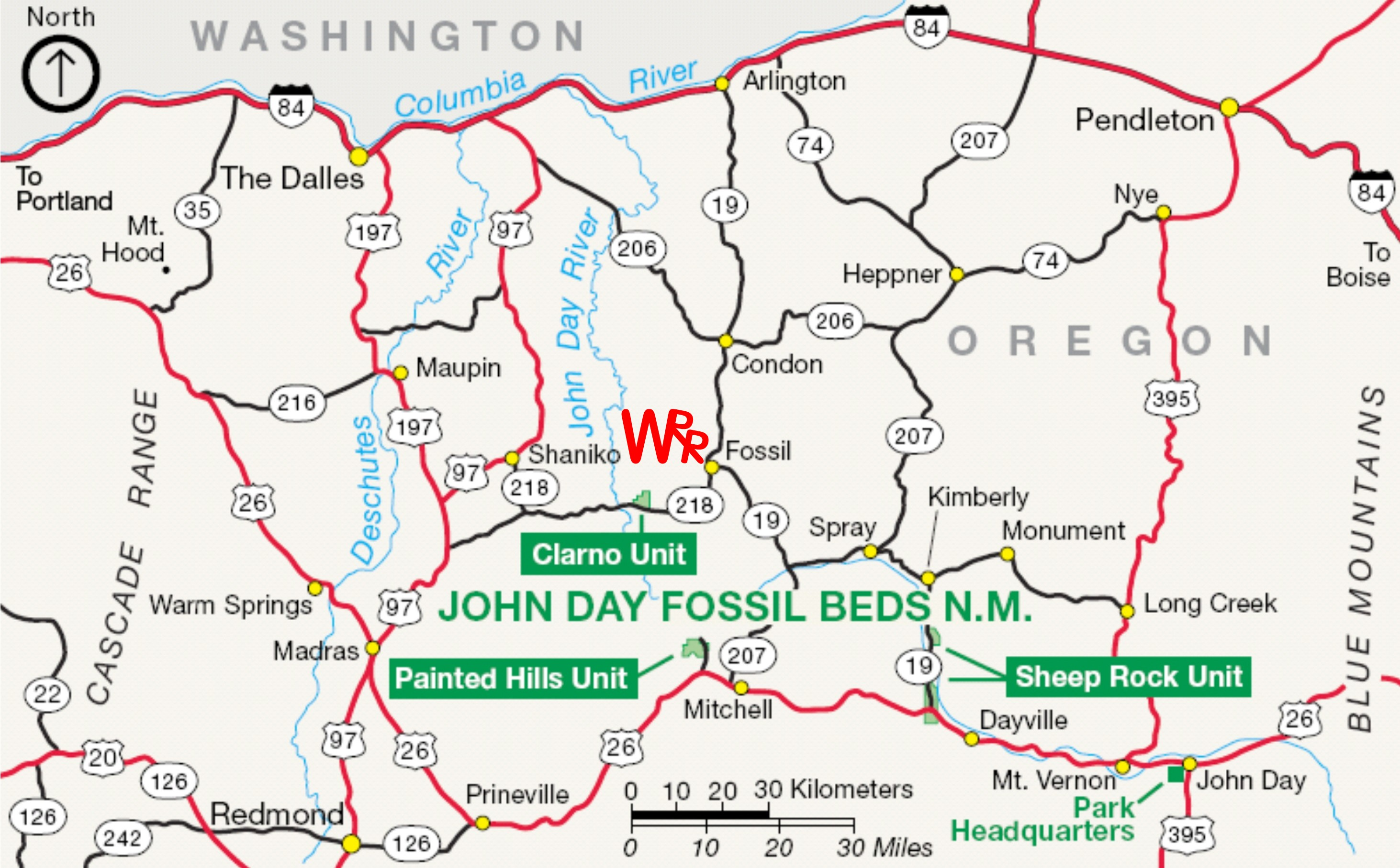 Wilson Ranches Retreat Map Directions - 45th parallel map us