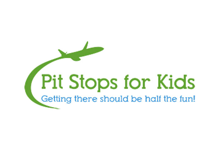 Pit Stops For Kids Logo