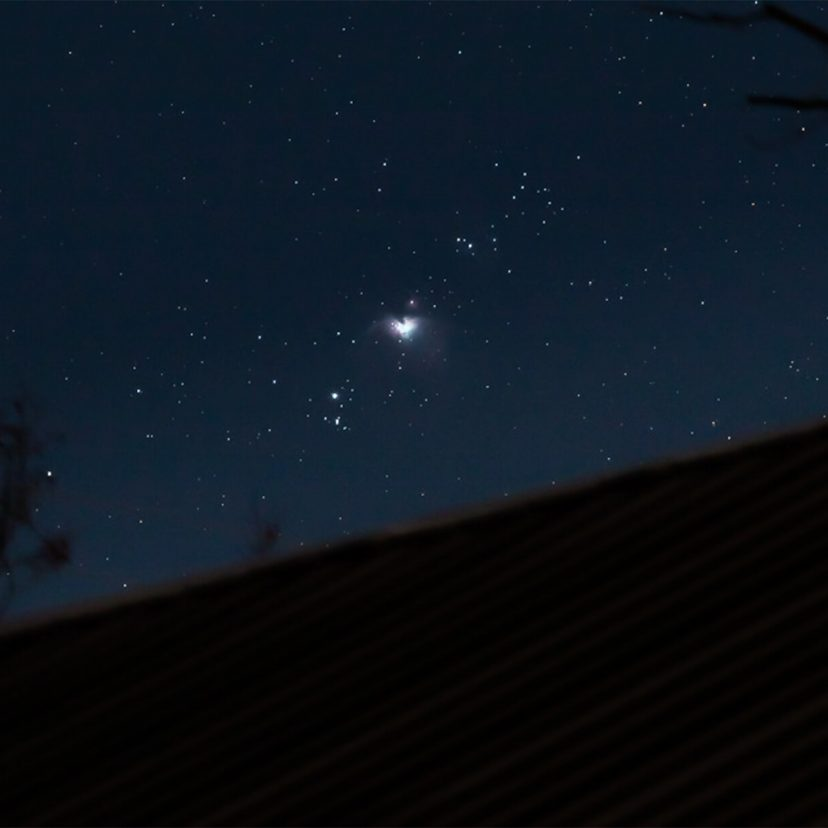 stars above Wilson Ranches Retreat