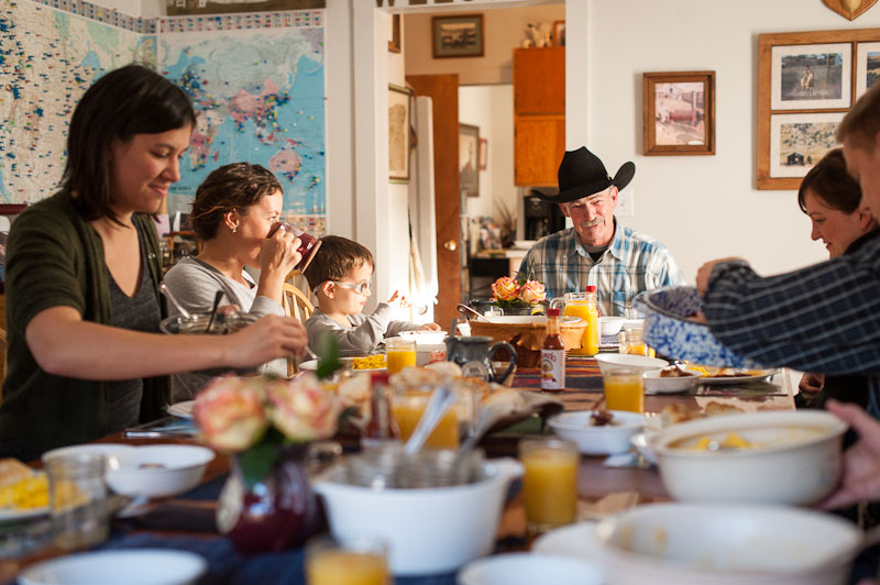 Wilson Ranches Retreat Breakfast - Photo by Justin Myers