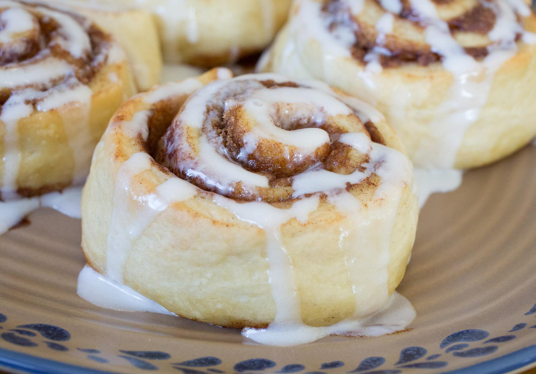 Cinnamon Rolls for Breakfast